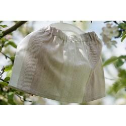 Mini spódniczka z kokardką- LEN